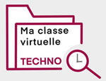 Picto Ma classe virtuelle techno